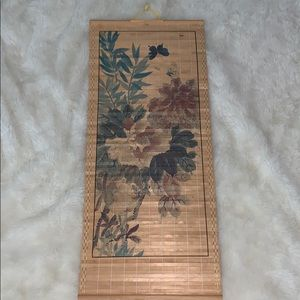 Other - Vintage bamboo art